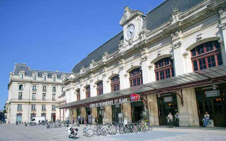 Bordeaux Saint-Jean train station